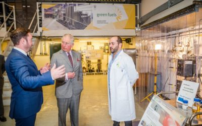 HRH The Prince of Wales visits Green Fuels and GFR